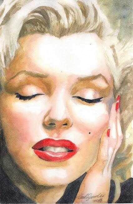 Marilyn Monroe par pamelasea